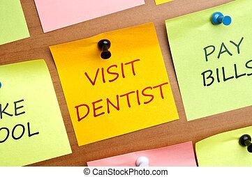 歯科医, 訪問