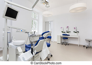 歯科医, 部屋