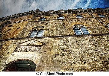 歴史建造物, 中に, フィレンツェ