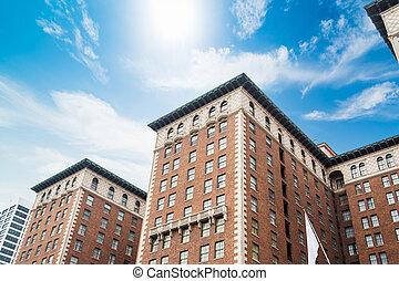 歴史的な建物, 中に, ダウンタウン los アンヘレス