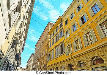 歴史的な建物, 中に, フィレンツェ