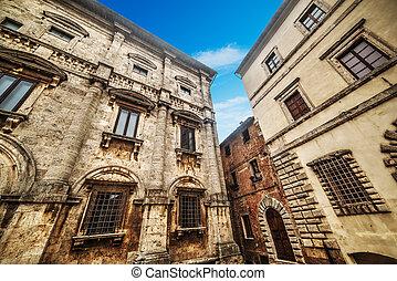 歴史的な建物, 中に, montepulciano