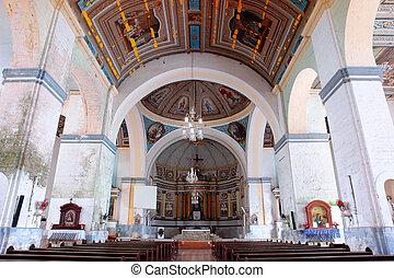 歴史的, フィリピン人, 教会, 内部
