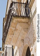 歴史的, balcony.