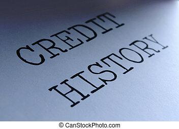 歴史, クレジット