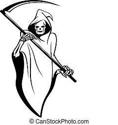 死亡, 签署