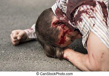死傷者, の, テロリストの攻撃