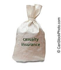 死傷者, 保険