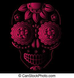 死者 の 日, 砂糖, 頭骨