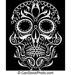 死者 の 日, 頭骨