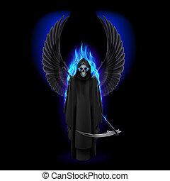 死, 天使