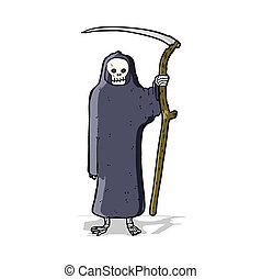 死, 漫画