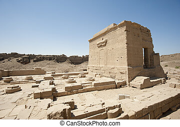残物, 古代, 寺院, エジプト人