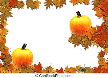 段になった, 秋
