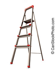 段ばしご, 隔離された