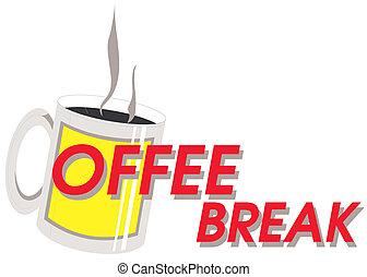 毀坏, 咖啡