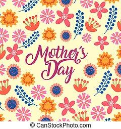 母の日, カード