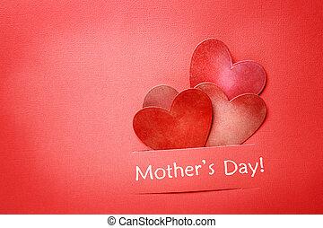 母の日, メッセージ, ∥で∥, ペーパー, 心