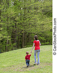 母 と 息子, 歩きなさい