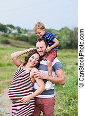 母, ∥(彼・それ)ら∥, 息子, 父, 妊娠した