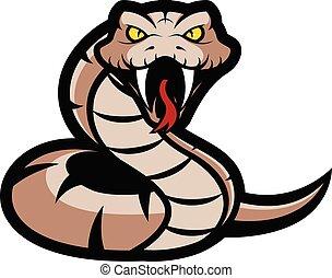 毒蛇, ヘビ, マスコット