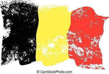 比利時旗子