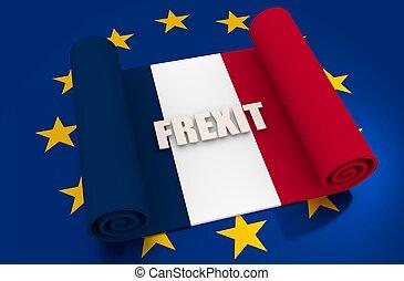 比喩, relationships., 組合, フランス, nexit, ヨーロッパ