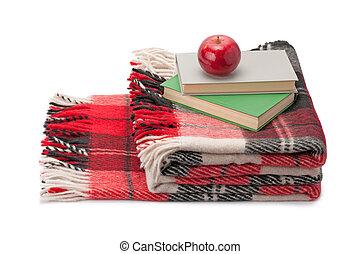毛布, 本, アップル
