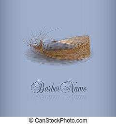 毛, あなたの, イラスト, ベクトル, design.