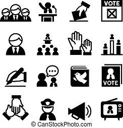 民主主義, アイコン