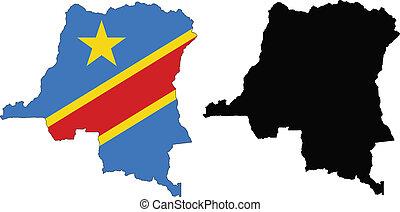 民主的, コンゴ