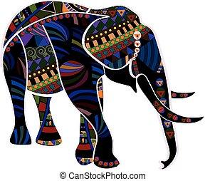 民族, 象