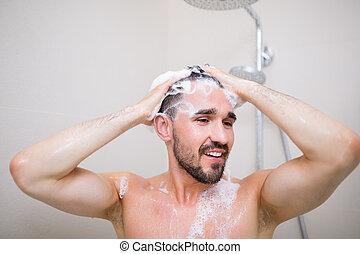 気持が良い, シャワー