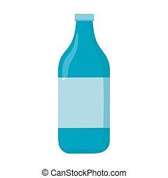水のビン, アイコン