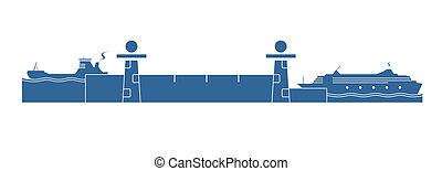 水システム, 錠