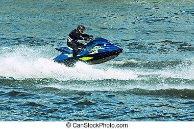 水スポーツ, スキー, ジェット機