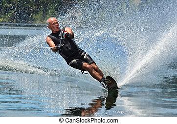 水スポーツ, -, スキー