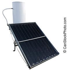 水ヒーター, エネルギー, 太陽
