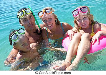 水下呼吸器潛水員