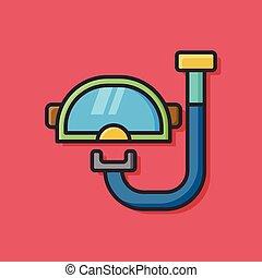 水下通气管, 圖象