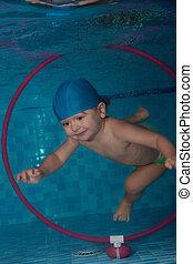 水中, たが, ダイビング