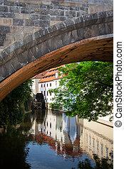 水力製粉所, プラハ, チャールズ 橋