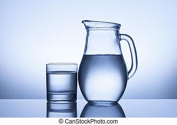 水差し, ガラス