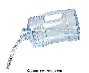 水帶柄水罐, 傾瀉