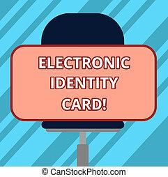 水平に, 旋回装置, 市民, 写真, card., モデル, テキスト, ステッカー, デジタル, 解決, 印, 形, chair., ブランク, 概念, 長方形, 電子, 提示, アイデンティティー, 証拠