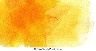 水彩画の絵, 手ざわり, 背景