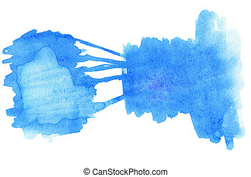 水彩画, 抽象的, あなたの, 背景, デザイン