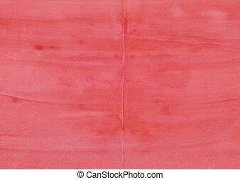 水彩画, gouache, グランジ, 赤い背景