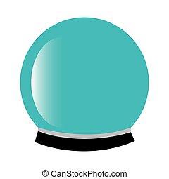 水晶球, マジック, アイコン