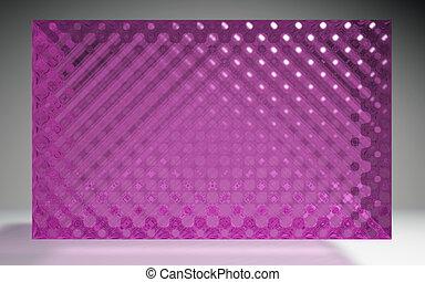 水晶, パターン, パネル, ピンク